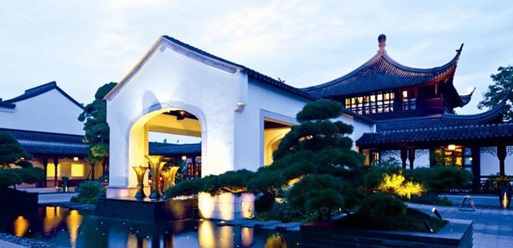 新中式园林建筑典范图片